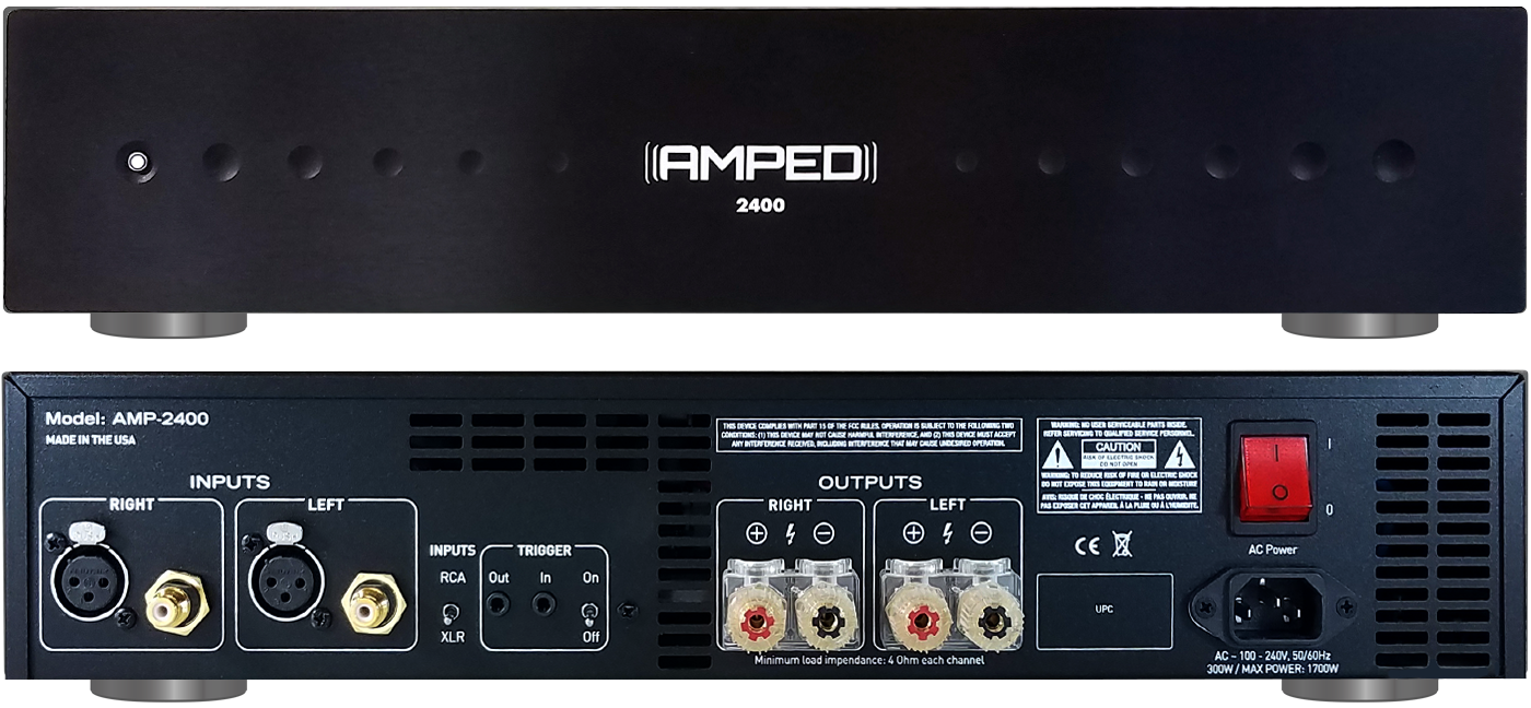 Partner Brands - Amped America Class D Amplifiers